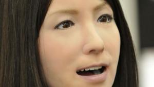 """Hiroshi Ishiguro's """"Geminoid-F"""""""