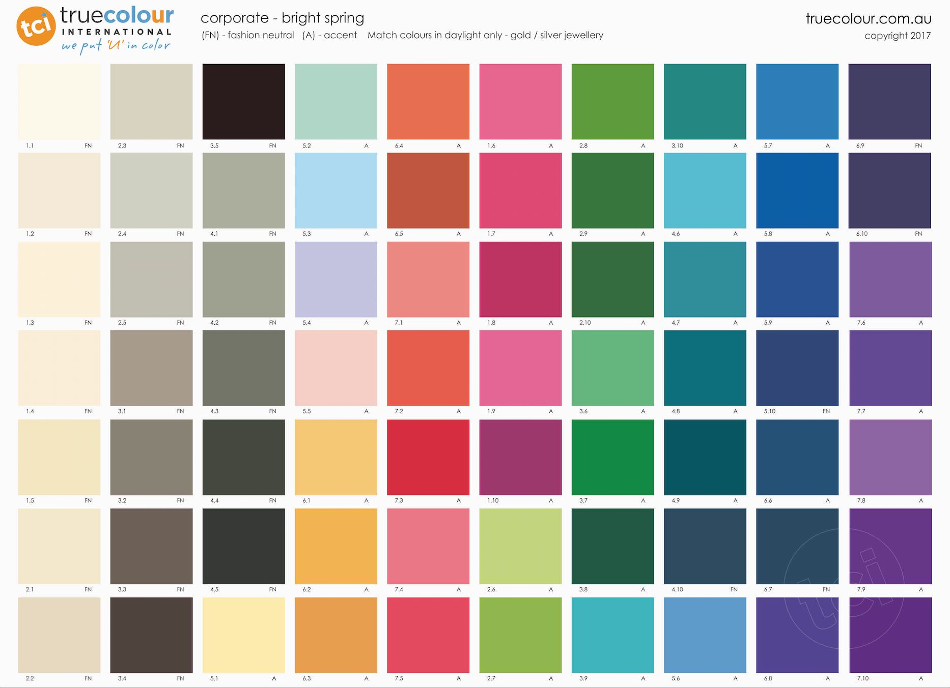 Bright Spring Poster - Corporate - True Colour International
